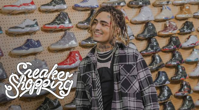 Lil Pump Burns His Producer s Sneakers and Buys Him New Pairs b1c35c9e5