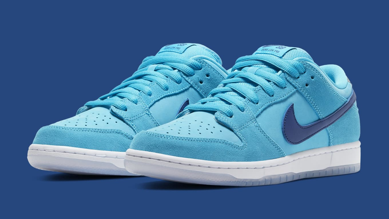 Nike SB Dunk Low 'Blue Fury' Release Date BQ6817-400 | Sole Collector