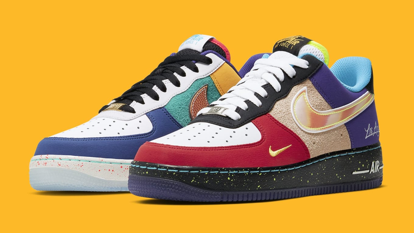 Nike Air Force 1 Low 'What The L.A.' Release Date CT1117 100