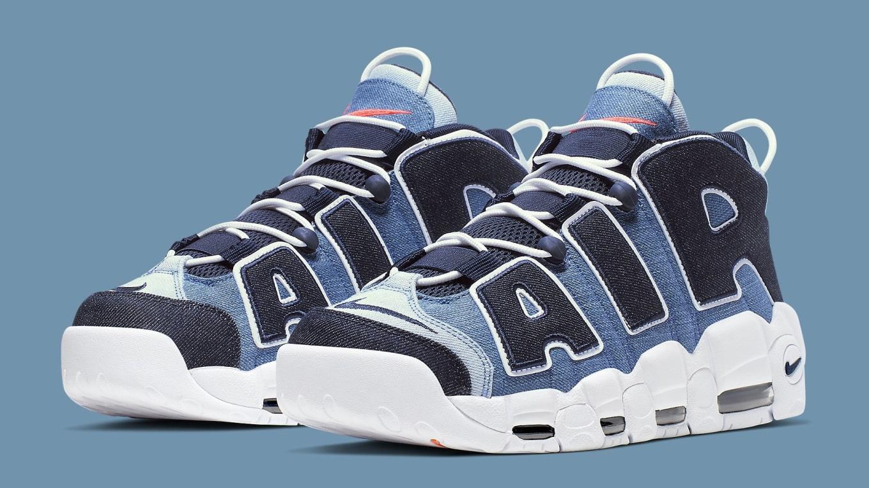 Nike Air More Uptempo '96 QS 'Denim Release Date Aug. 10
