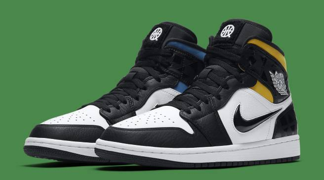 d9e6b93f6b0 The Air Jordan 1 Mid Is Joining This Year's Quai 54 Lineup