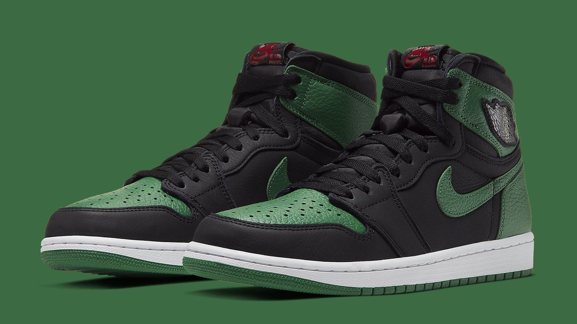 Air Jordan 1 Retro High OG 'Pine Green' Release Date 555088-030 ...