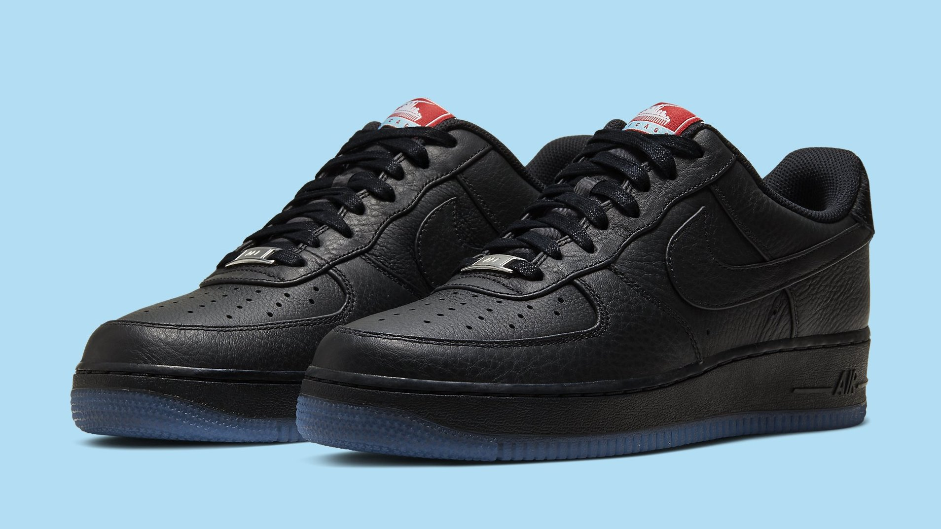 Nike Air Force 1 Low Chicago Ct1520 001 Release Date Sole