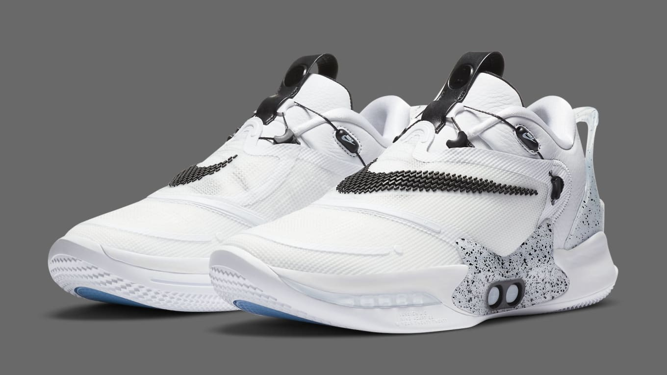 Nike Adapt Bb 2 0 White Cement Release Date Bq5397 101 Sole Collector