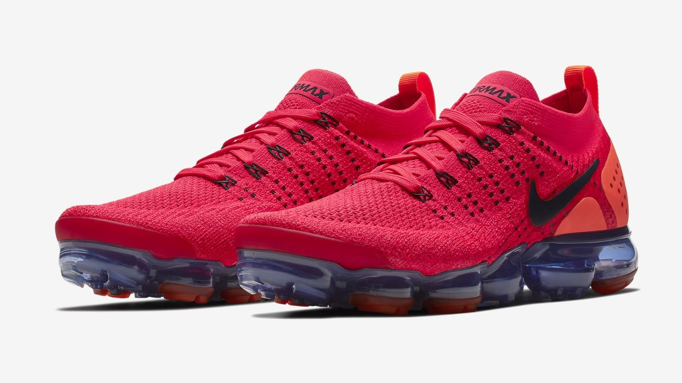 8468004253 Nike Air VaporMax 2 'Red Orbit' July 19, 2018 Release Date AR5406 ...
