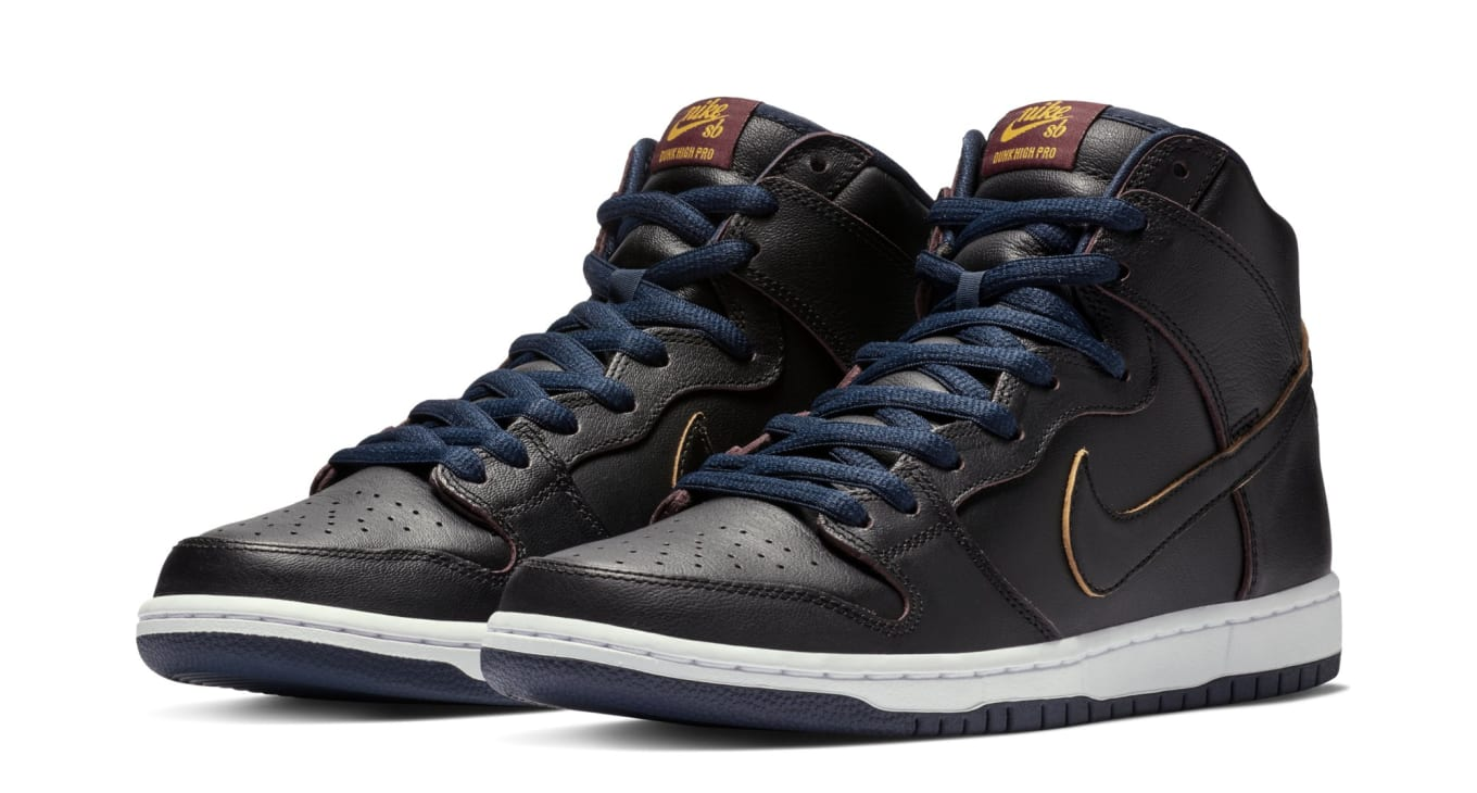2d7fe7bfd NBA x Nike SB Dunk High  Cleveland Cavaliers  Release Date