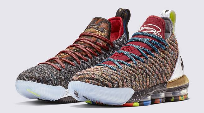 728ebac5edc  What The  Nike LeBron 16 Unites the First Colorways