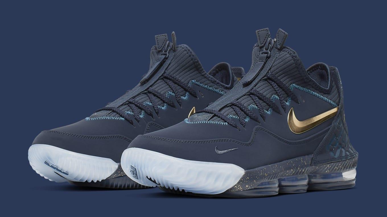 best service 43656 79808 Titan x Nike LeBron 16 Low 'Agimat' Release Date | Sole ...