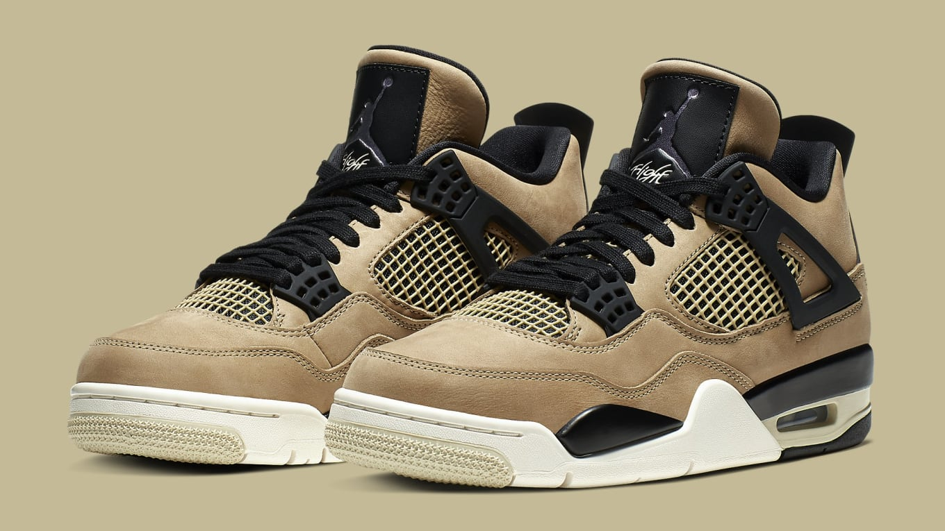 check out 39776 875c1 WMNS Air Jordan 4 'Mushroom'AQ9129-200 Release Date | Sole ...