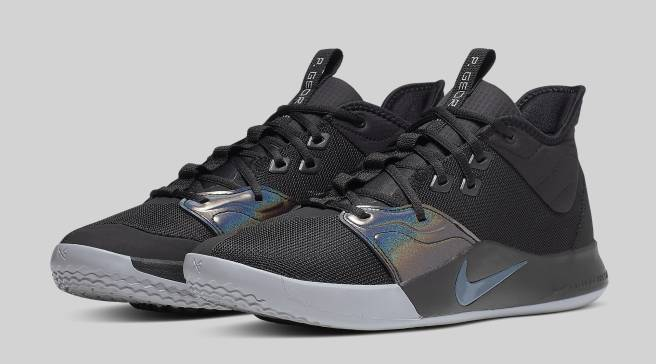 best sneakers 7c5f3 b596e Iridescent Details Are Coming to the Nike PG 3