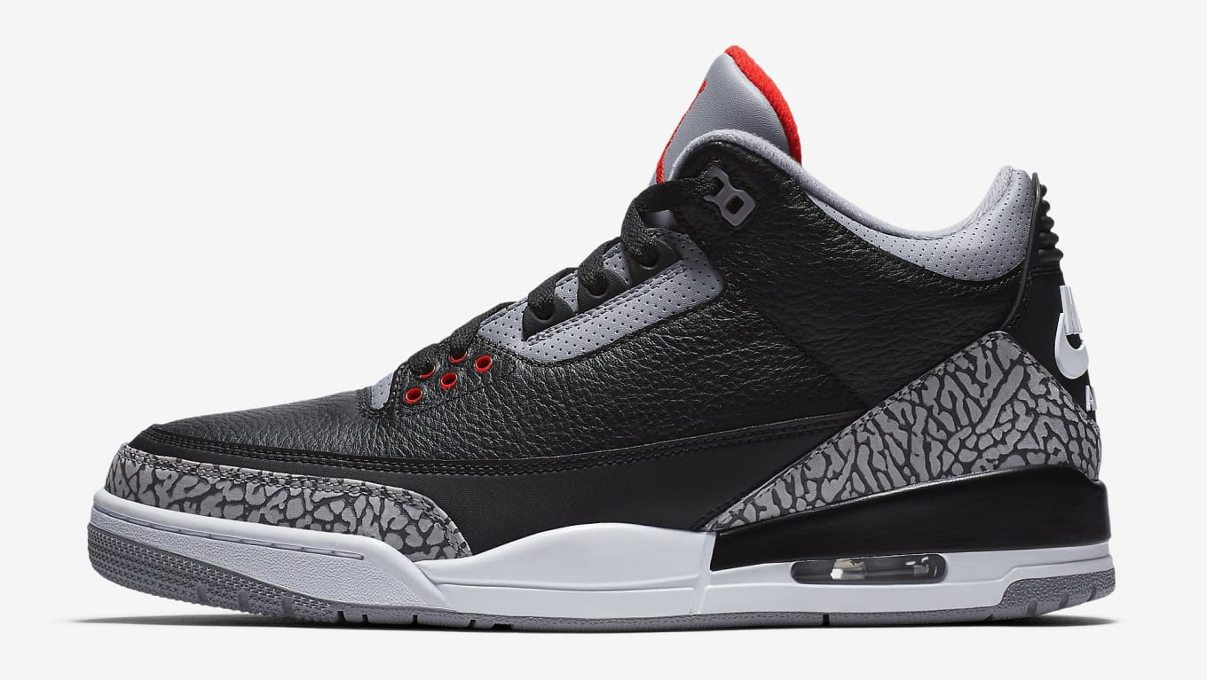 buy popular 3c977 f2d4f Air Jordan 3  Black Cement
