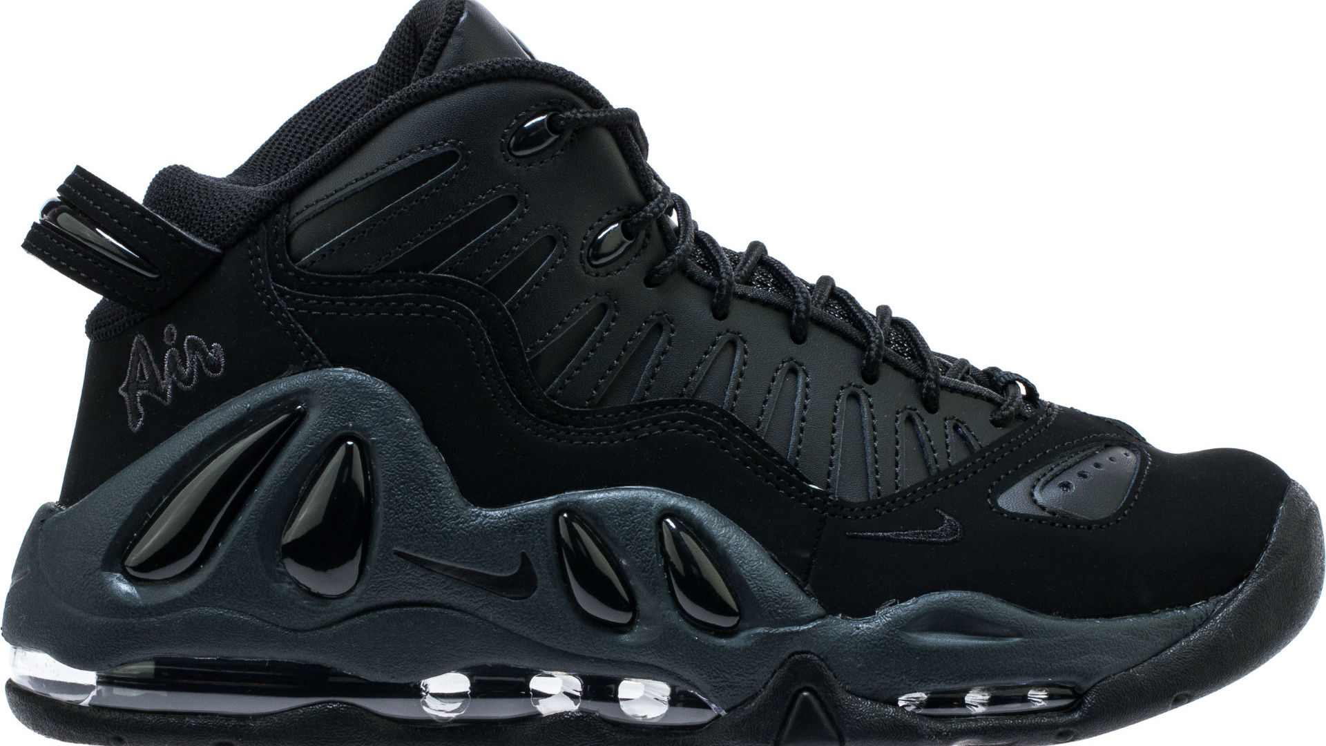promo code c2d29 9b74d Nike Air Max Uptempo 97  Triple Black  Release Date 399207-005   Sole  Collector
