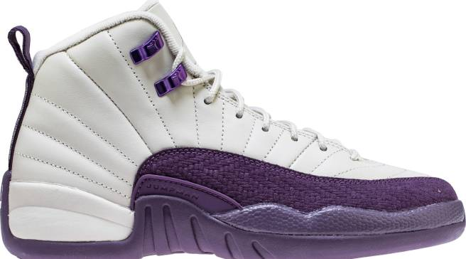 44afb6a56267 Purple and Beige Jordan 12s Releasing for Kids Only