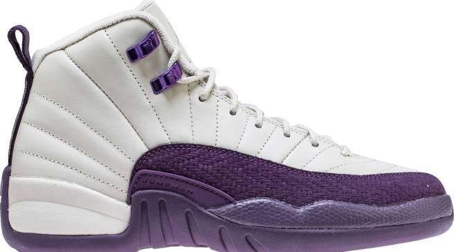 4c0ba3e21b2 Purple and Beige Jordan 12s Releasing for Kids Only