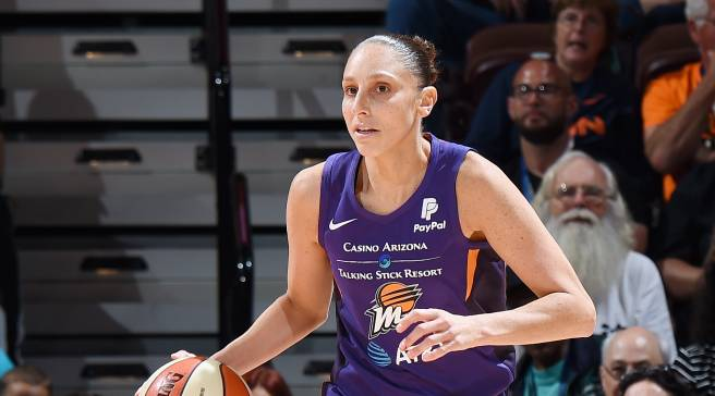 e74f064f LeBron James Gave Diana Taurasi Exclusive Sneakers for Her Season Debut
