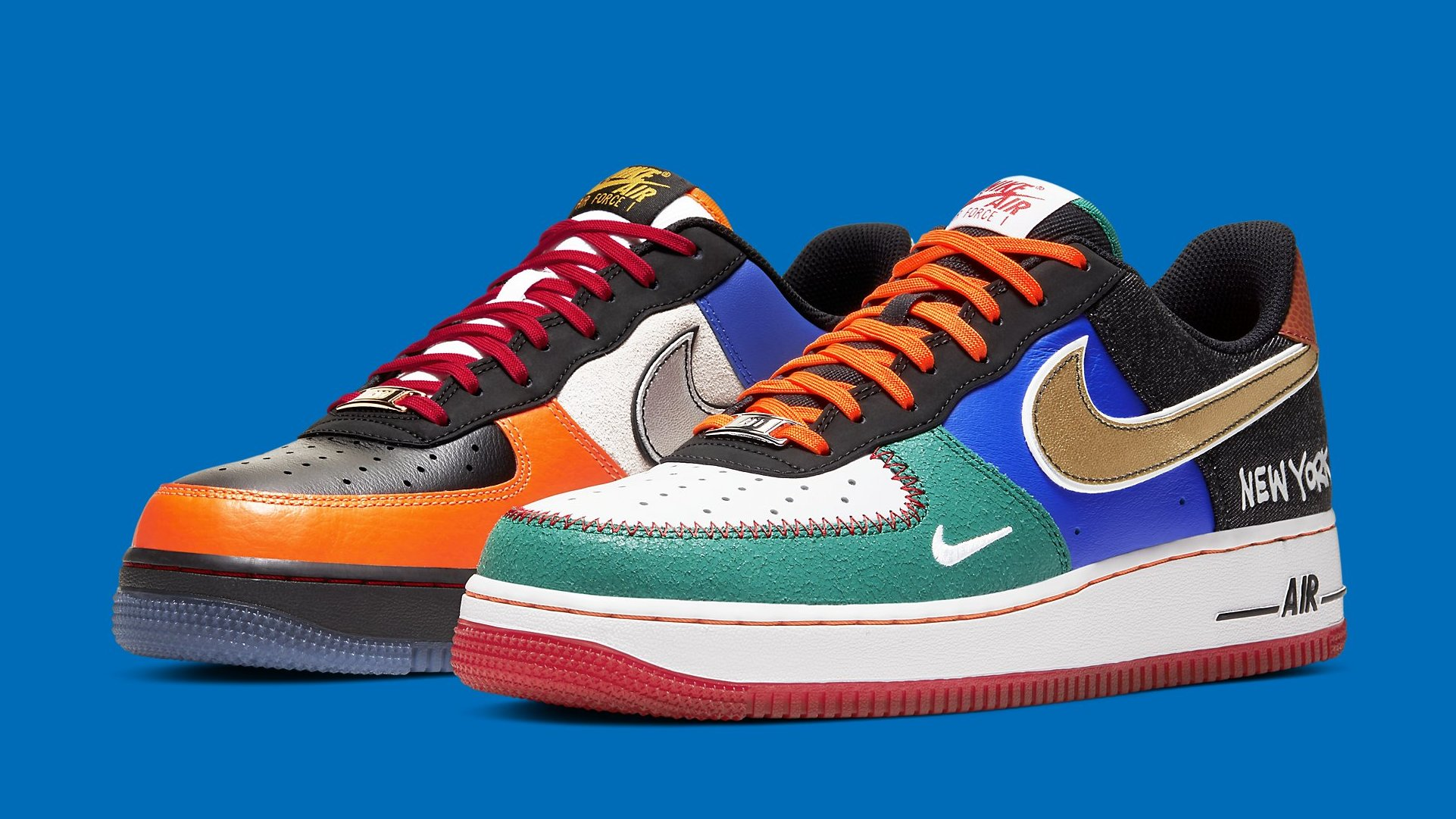 Nike Air Force 1 Low 'What The NYC' Release Date CT3610-100 | Sole ...