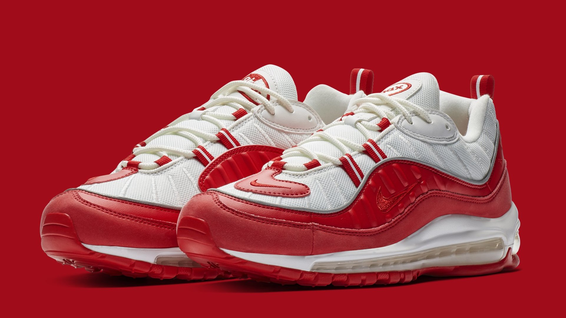 esquina dólar estadounidense navegador  Nike Air Max 98 'University Red' 640744-602 Release Date | Sole Collector