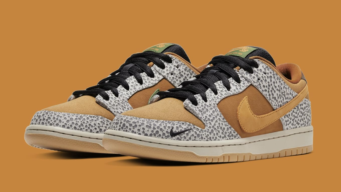 nike sb dunk low safari online raffle