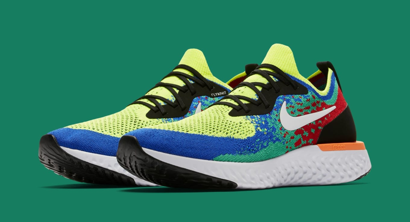 07347be329c25 ... Nike Epic React Flyknits Are Coming Soon. A closer look at the  exclusive colorway.