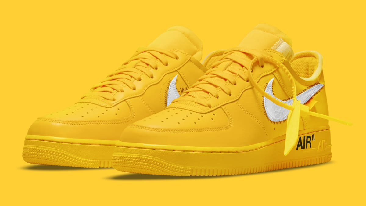 Off-White x Nike Air Force 1 Low 'Lemonade' Release Date DD1876 ...