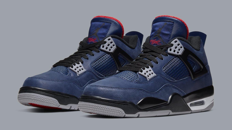 Air Jordan 4 Retro WNTR 'Loyal Blue/White/Habanero Red/Black ...