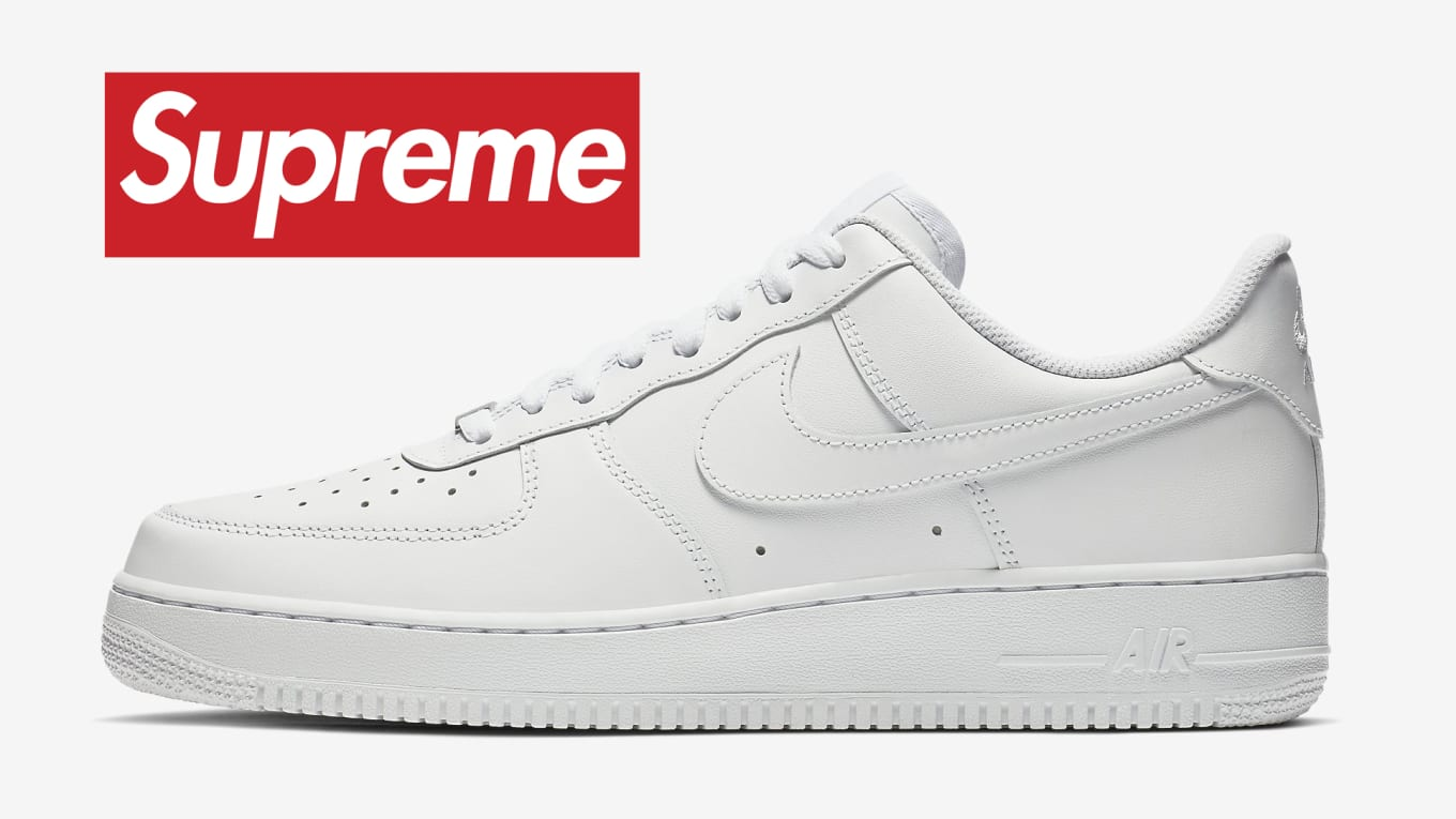 superior quality 56cbb 01ef0 Supreme x Nike Air Force 1 Low 2020 Release Date | Sole ...
