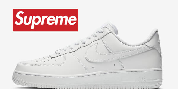 Supreme Is Reportedly Dropping Another Air Force 1 Collaboration