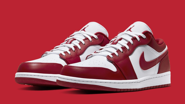 Air Jordan 1 Low 'Gym Red' Release Date 553558-611 | Sole ...