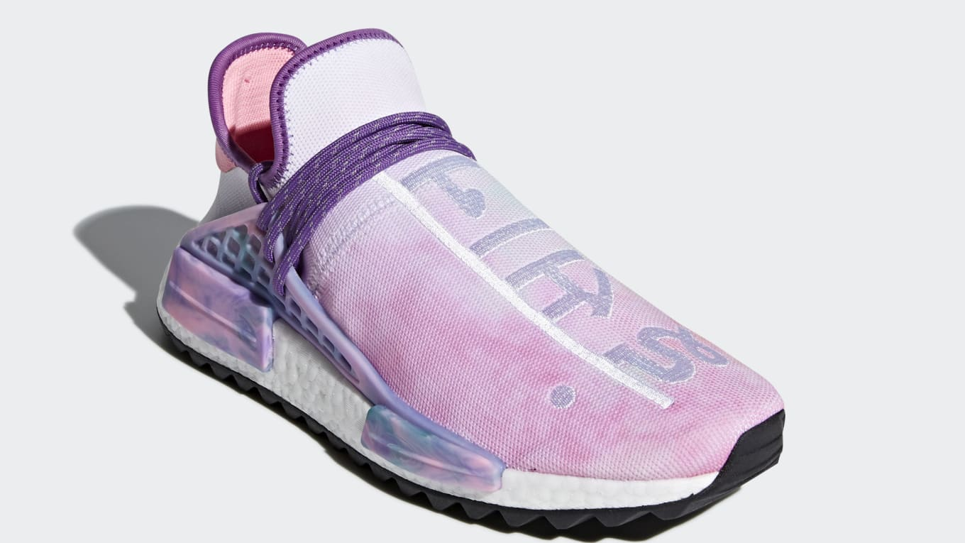 b50d83d156a70 Get colorful with the Pharrell x Adidas NMD Hu  Holi Festival