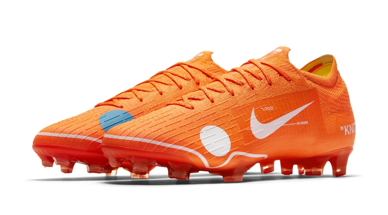 db7767f47f9 Off-White x Nike Mercurial Vapor 12 Elite Images | Sole Collector