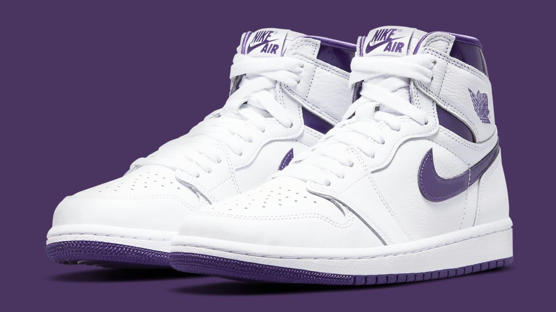 Air Jordan 1 Retro High OG Women's 'Court Purple' Release Date ...