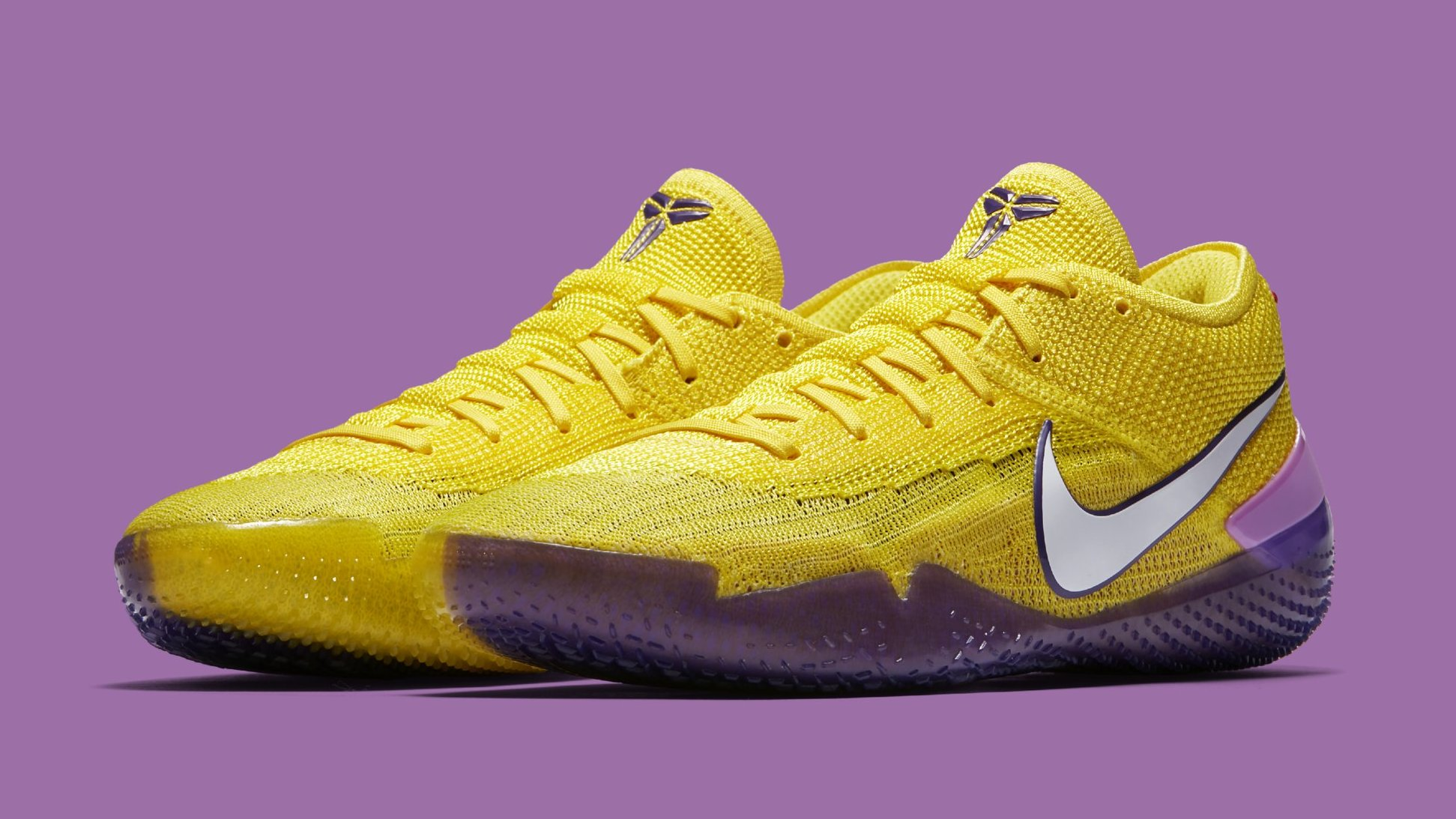 the best attitude ba203 ce5f9 Nike Kobe A.D. NXT 360 'Yellow Strike/White' AQ1087-100 Release Date ...