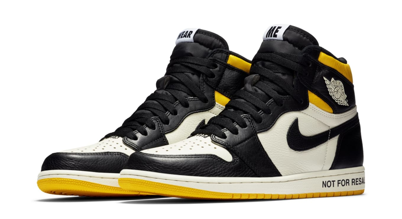 933bdd38d5f8a6 These  Not For Resale  Air Jordan 1s Will Be Very Hard to Get