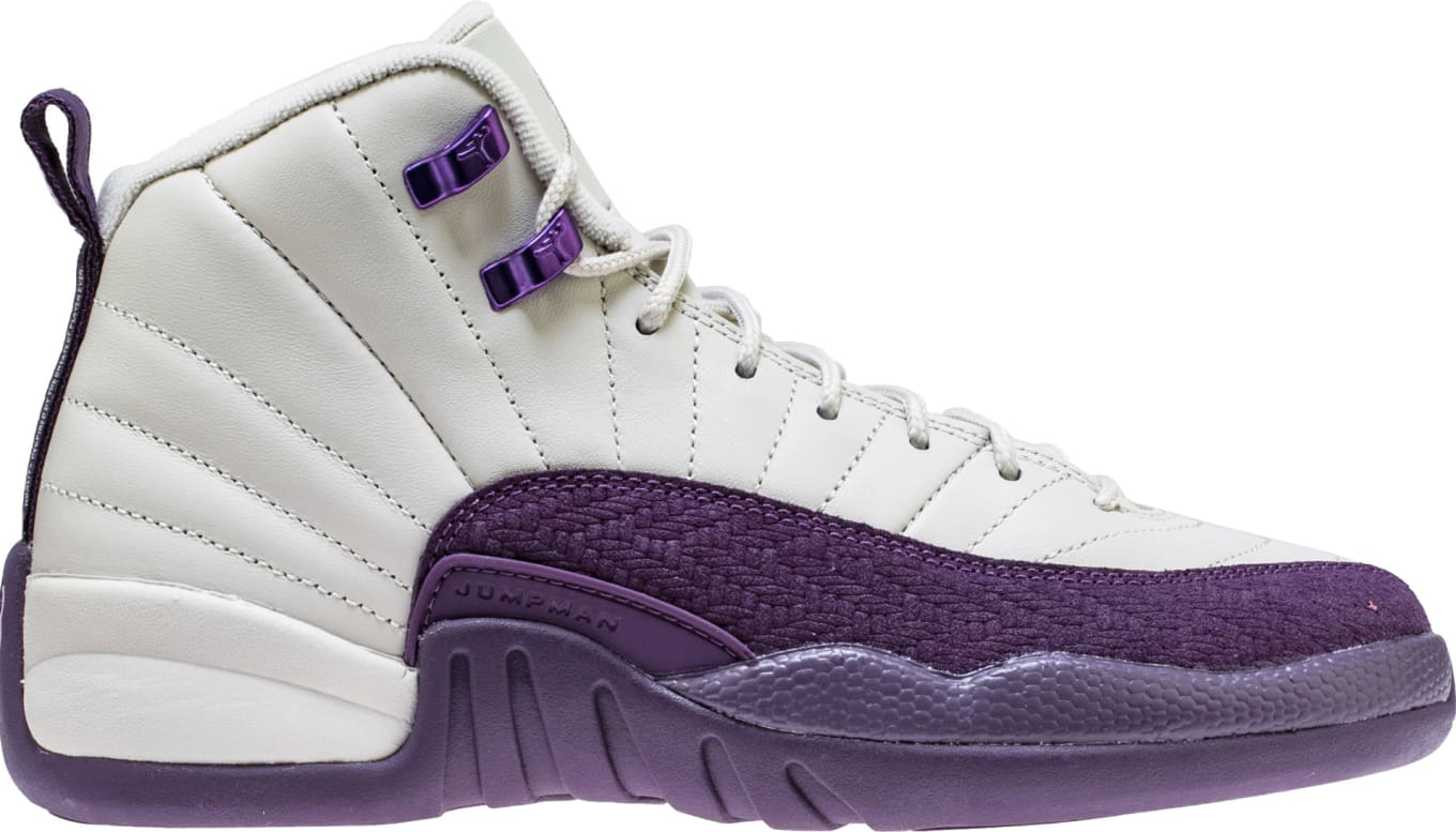 info for 90936 62a34 Air Jordan 12 Retro GS Desert Sand Purple Release Date ...