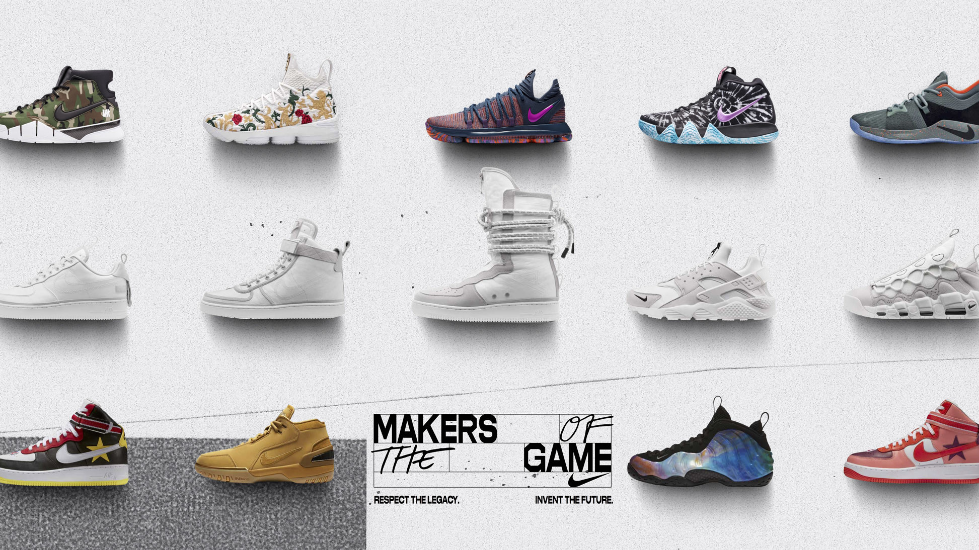 db4d87ec15a3b Nike Makers of the Game Sneaker Collection