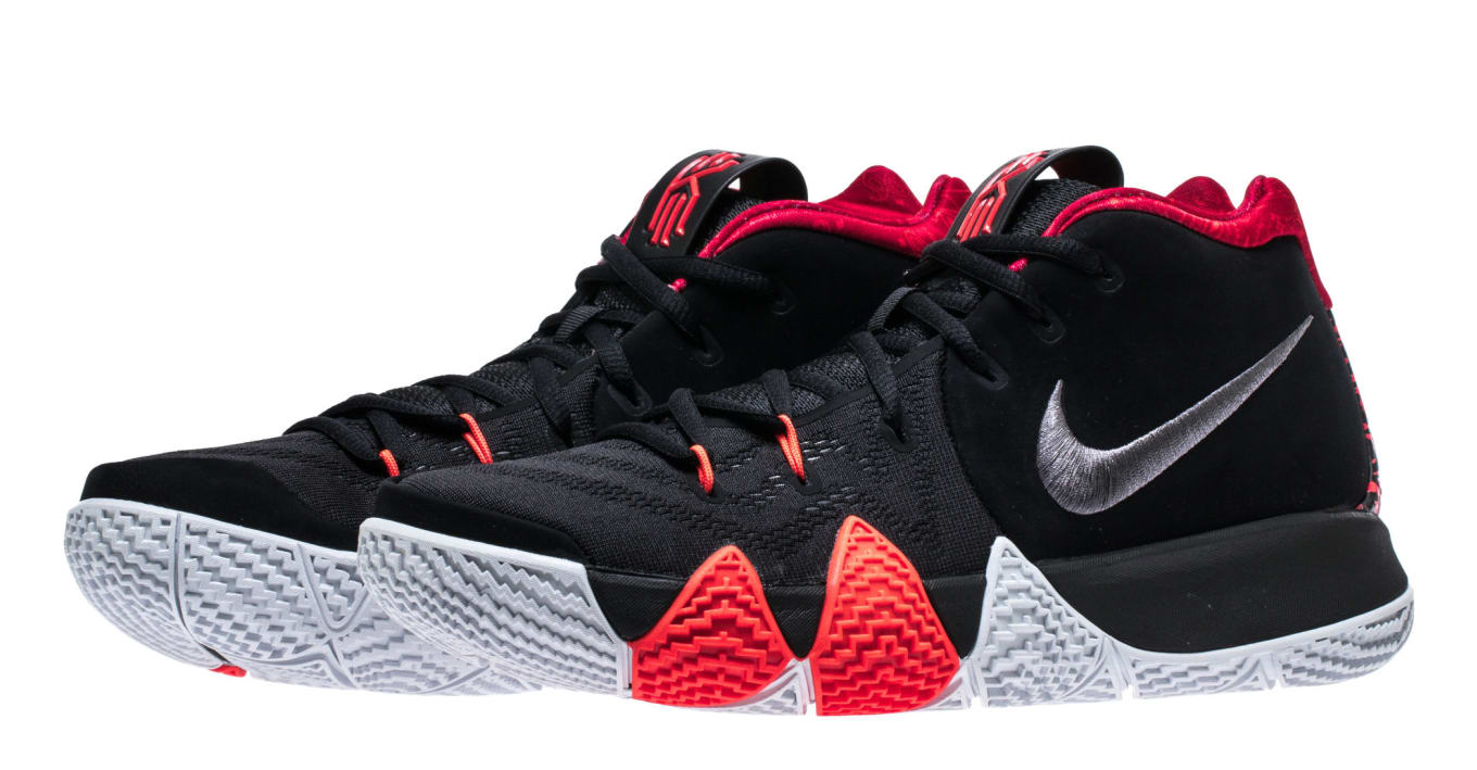 timeless design c8224 f488e Nike Kyrie 4  Black Dark Grey  943806-005 Release Date   Sole Collector