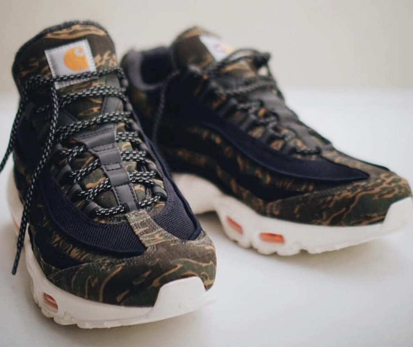 b7e696b743 Carhartt WIP x Nike Air Max 95 Collaboration Release Date | Sole ...