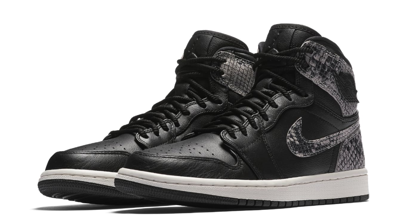 a5d734a05ffe Air Jordan 1 Retro High Premium Women s Snake AH7389-014 AH7389-004 ...