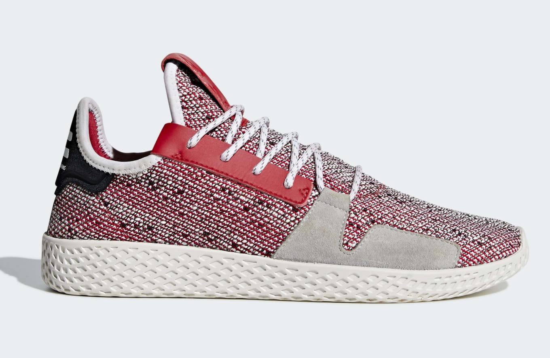 9159efc39cf Pharrell x Adidas Tennis Hu v2 BB9542 BB9543 Release Date