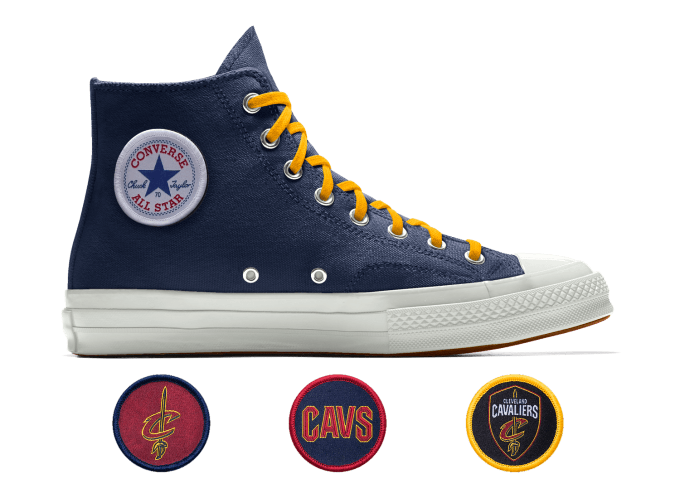 0ea911c7edcd3d Converse Chuck 70 NBA High Top Custom