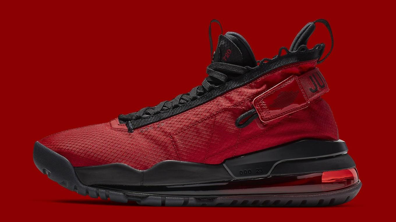 buy online cdeb0 919d4 Jordan Proto-Max 720 Black Gym Red
