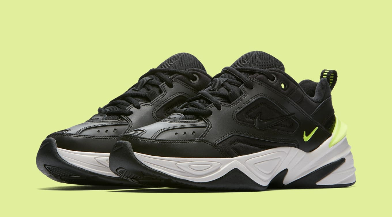quality design 1a752 11d35 Nike M2K Tekno WMNS  Black Black Phantom Volt  AO3108-002 Release ...