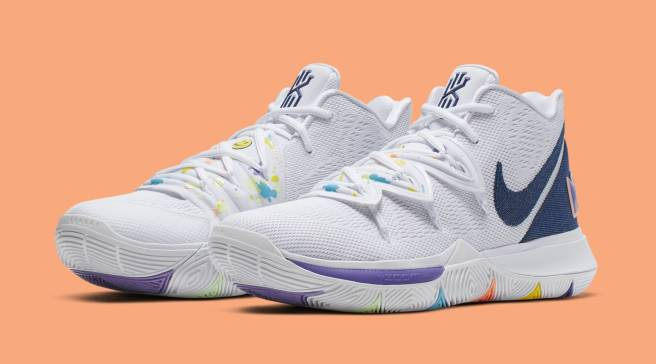 wholesale dealer a54b5 4c80a This Kyrie 5 Hopes You  Have a Nike Day