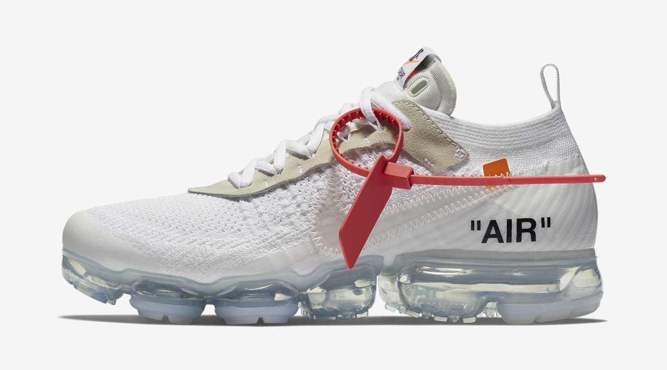 outlet store c6604 37197 Off-White x Nike Air VaporMax  White