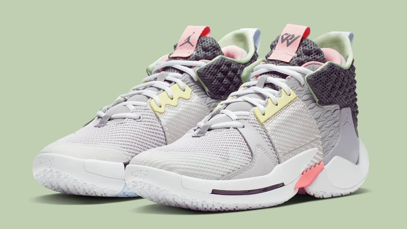 huge selection of ec3ce a1b97 Image via Nike. The latest colorway of the Jordan Why Not Zer0.2 ...