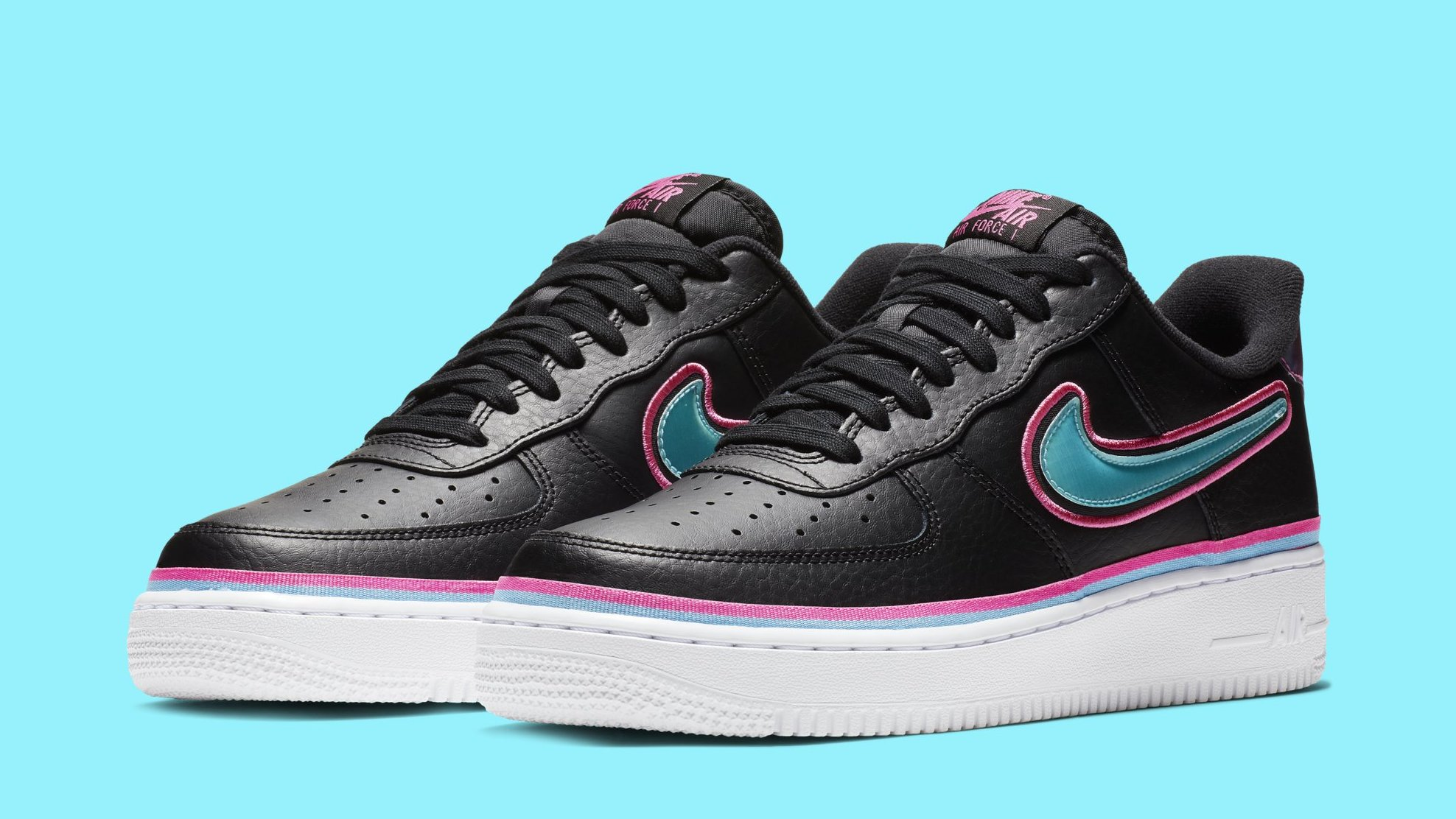 ef26228dec8bc NBA x Nike Air Force 1 Low 'Miami' Release Date | Sole Collector
