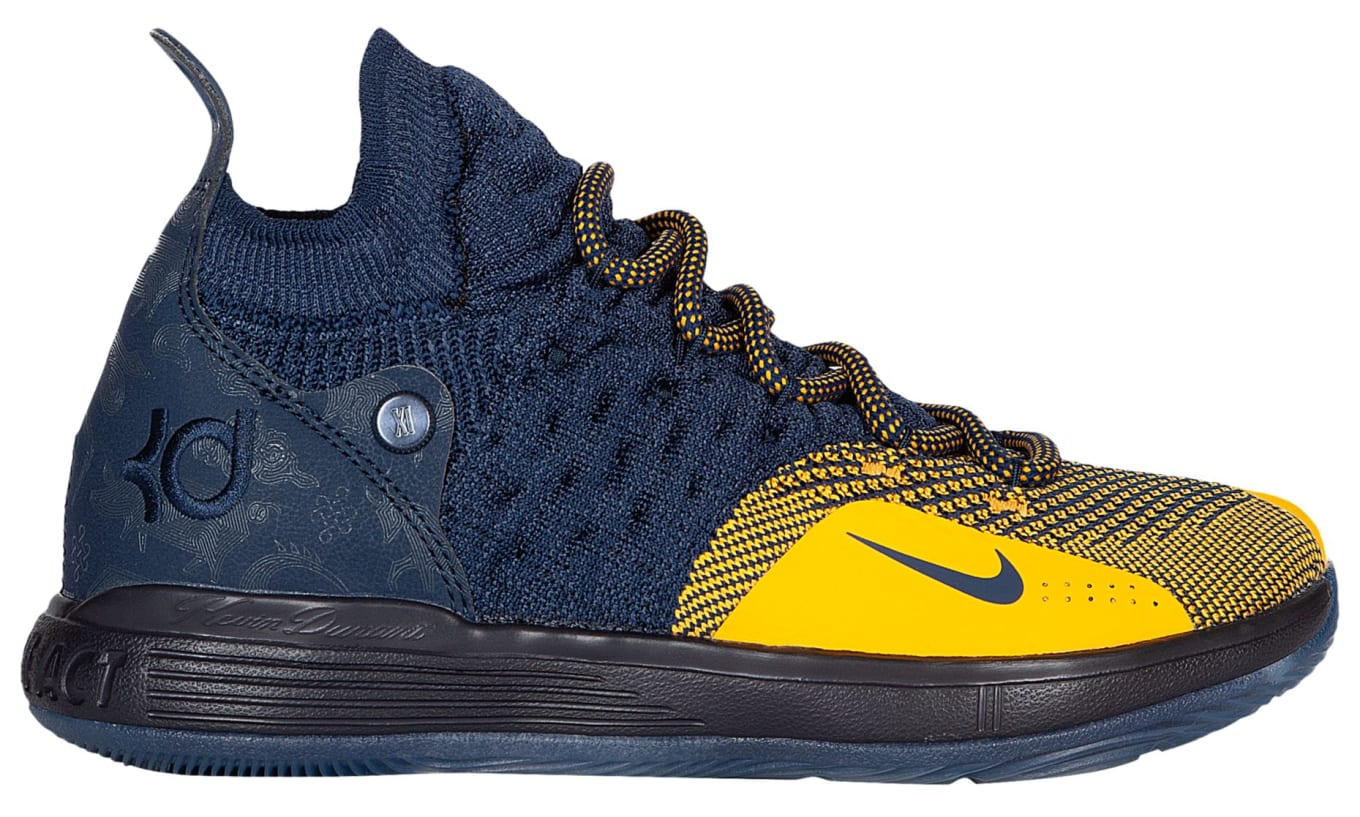 info for b1fe3 d7dc7 Nike KD 11  Michigan  AO2604-400 Release Date   Sole Collector