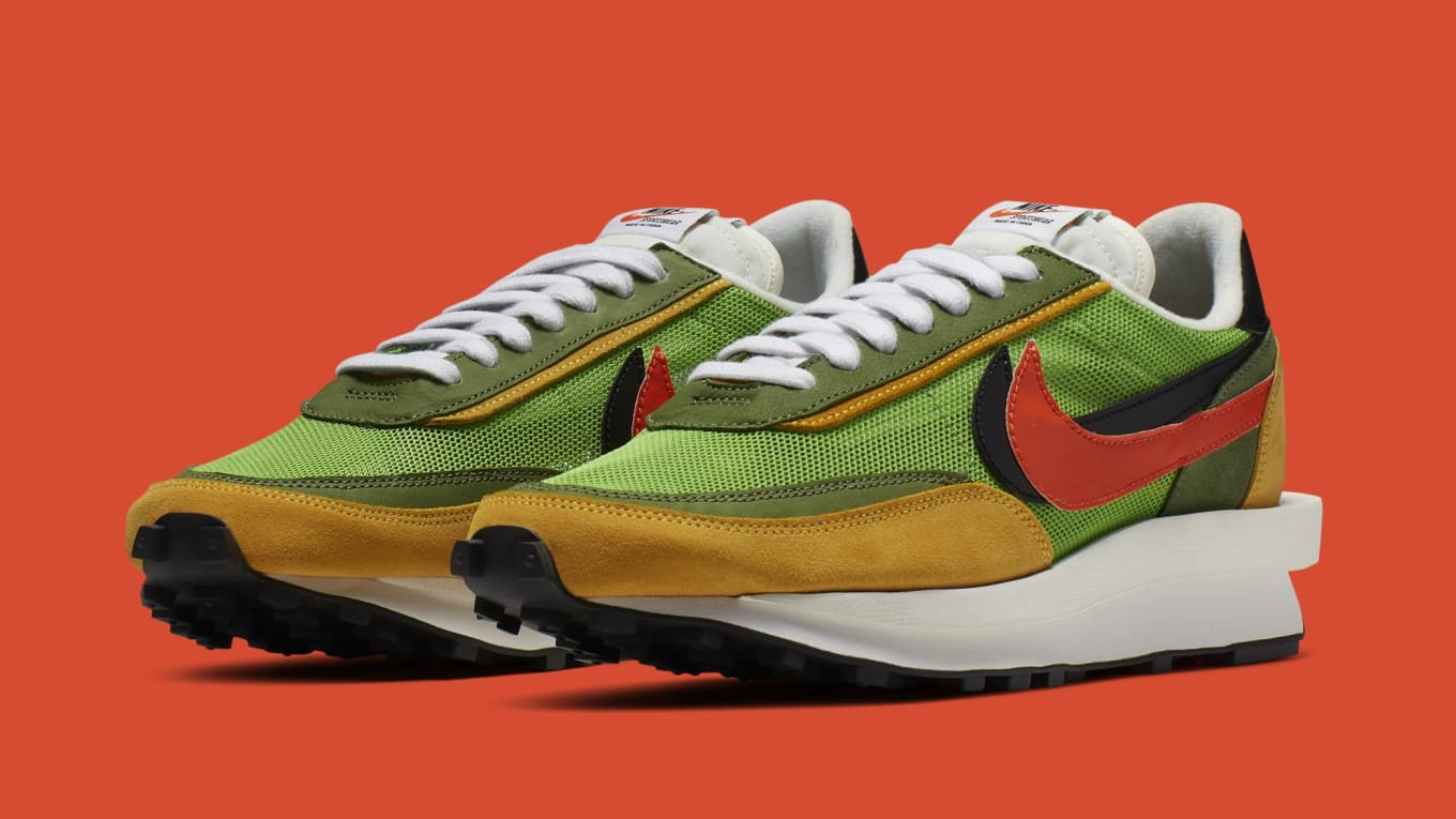 new arrival f0c83 64faa Sacai x Nike LDWaffle BV0073-300 BV0073-400 Release Date | Sole ...