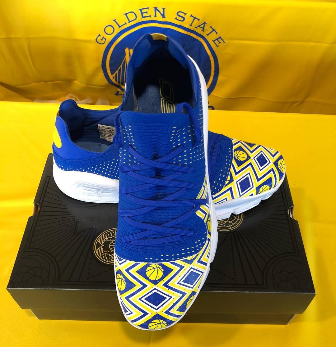 Under Armour Curry 4 Low Dance Cam Mom
