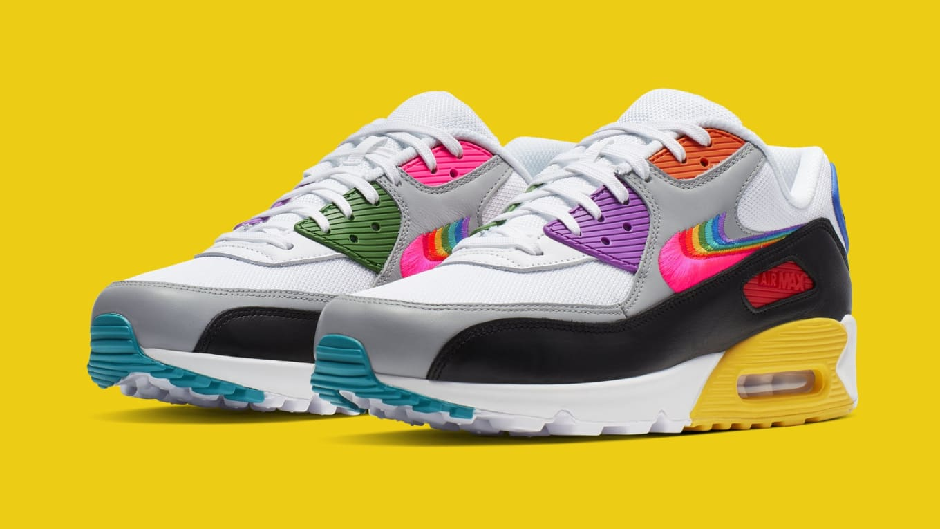 909aff48e0 Nike Air Max 90 'Be True' 2019 CJ5482-100 Release Date June 1, 2019 ...